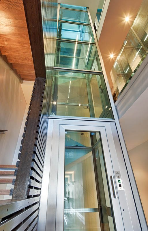 glass shaft technology residential glass elevators