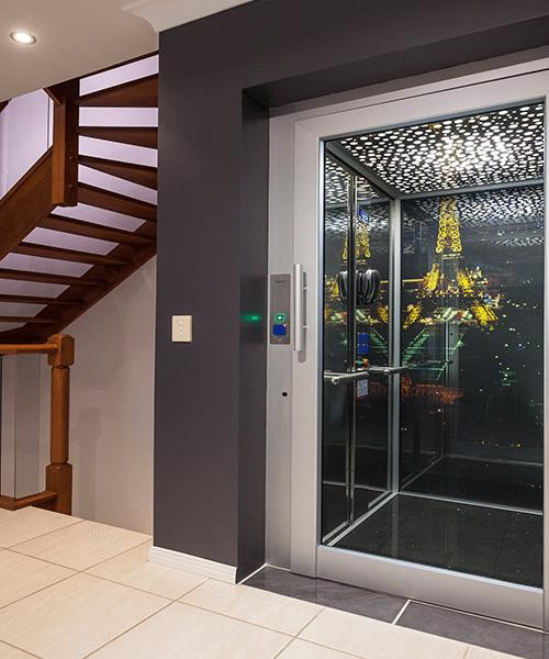 Customised DomusLift residential lift