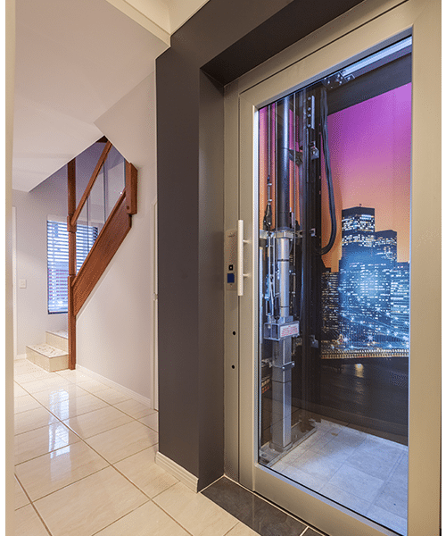 DomusLift customised residential lift