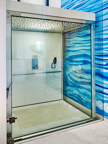 DomusLift glass residential lifts