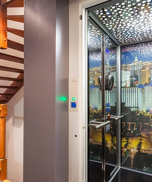 DomusLift residential lifts customised