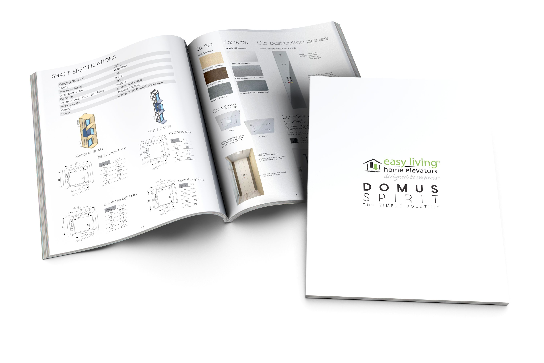 Residential lift DomusSpirit brochure