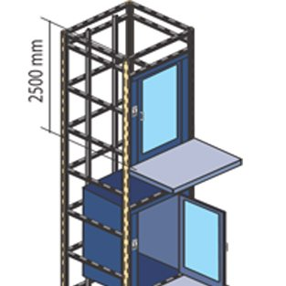 OPTIONAL PREBUILT TOWER DESIGN REDUCES INSTALLATION COSTS