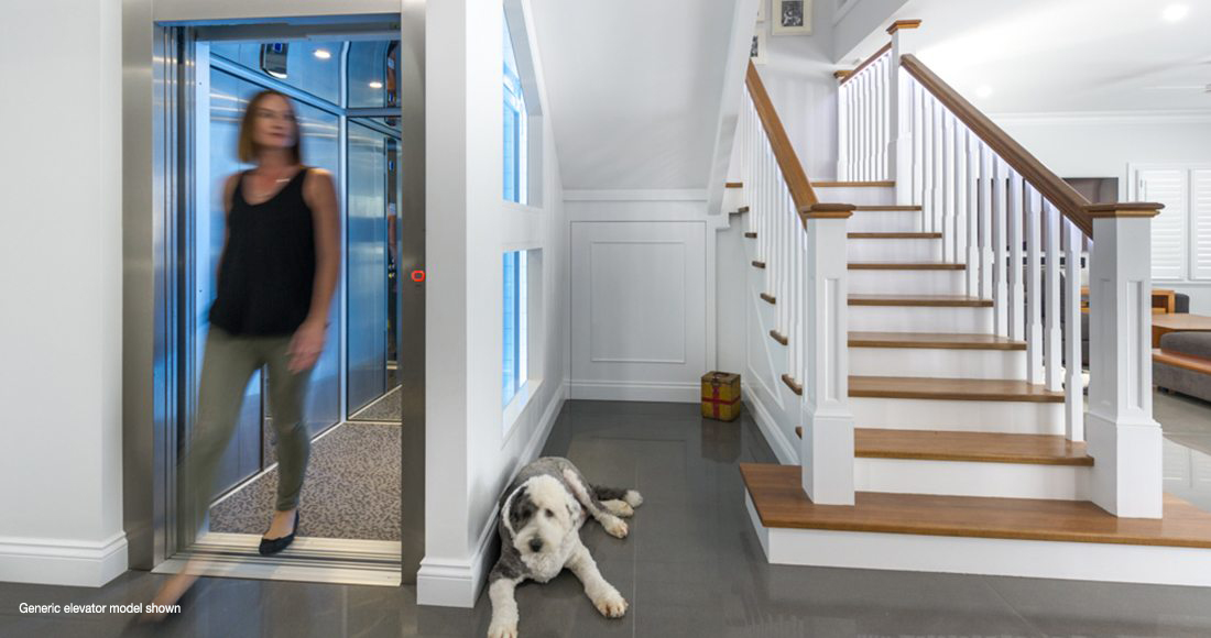The ecoglide lift affordable residential lifts easy living for Easy living elevators