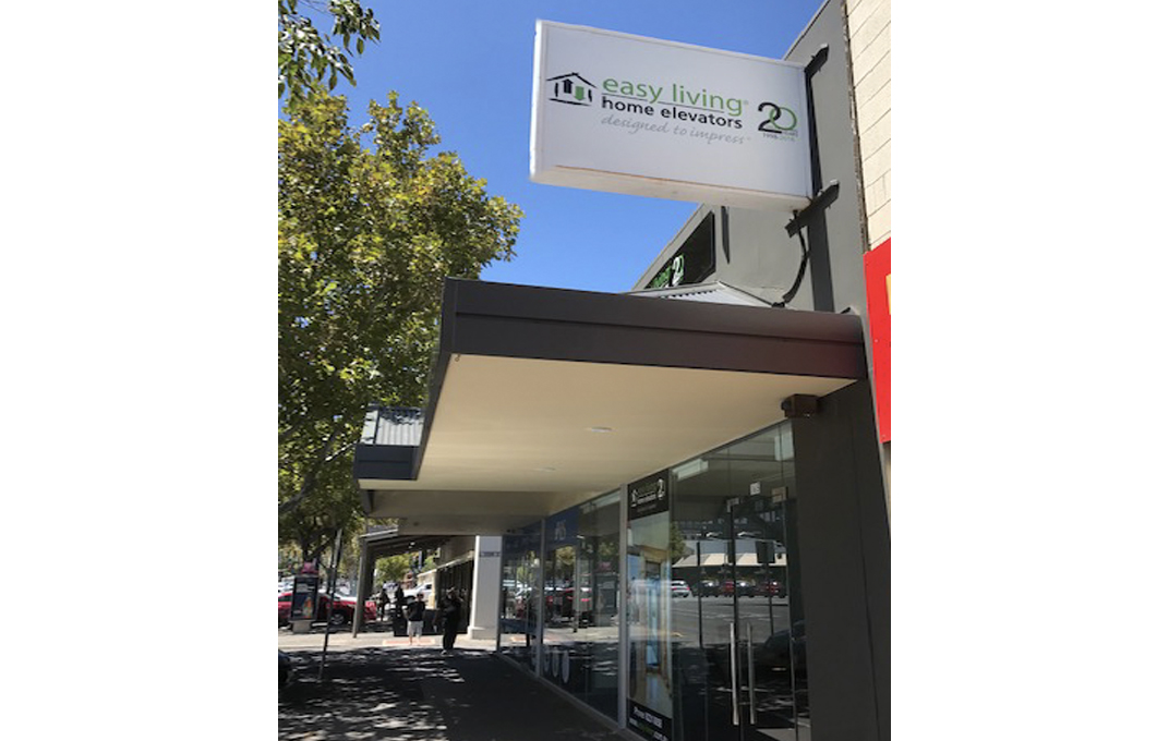 Adelaide Home Elevator lifts showrooms
