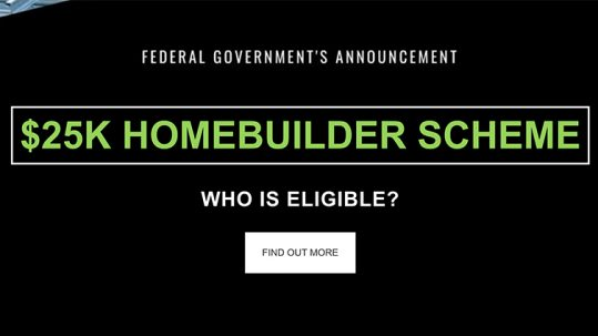 Homebuilder Government Scheme