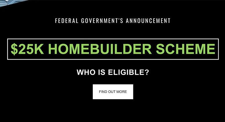 Homebuilder Government Scheme